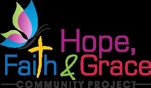 Hope faith grace community projects logo